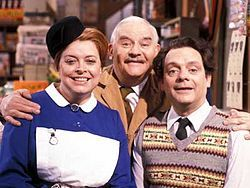 Open All Hours  I love this show, Ronnie BArker is a comedy genius. Also i used to live really close to where it was filmed and used to go watch it