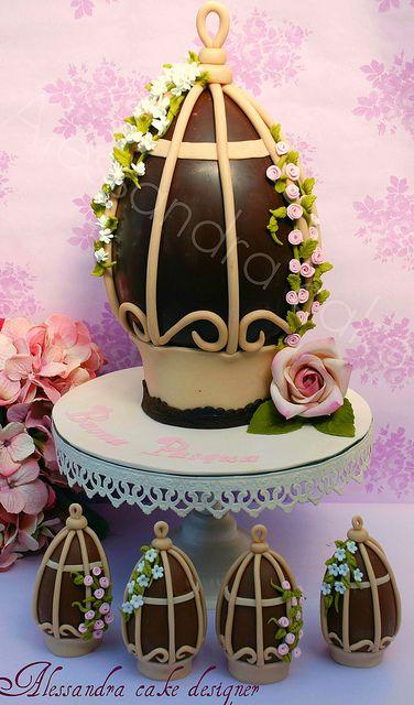 Easter Egg.   Uovo di Pasqua -!!Happy Easter!!!! by Alessandra Cake Designer, via Flickr