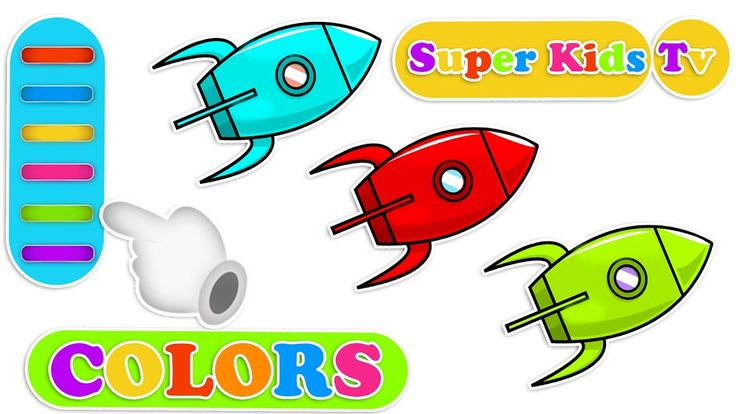 Let's Learn Colors for kids with Rocket | colors songs for Kids | Colors...