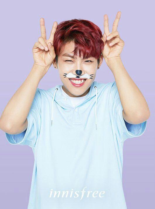 Innisfree - Park Woojin Wanna One