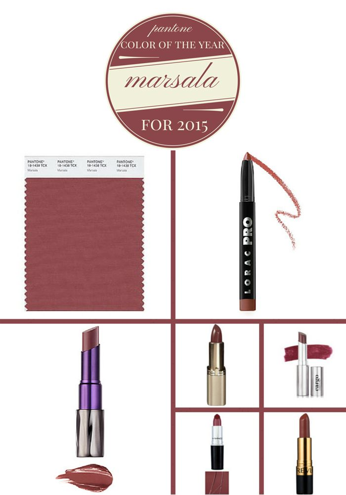 Pantone Color of the Year Lipstick Shades