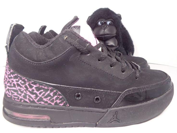 Kids Nike Air Jordan Faux Pink Basketball shoes size 4.5 Youth 323101-066 #Nike #Basketballshoes
