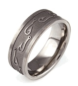 Fish Hook Ring. This would be something cute for a boyfriend to give to a girlfriend.