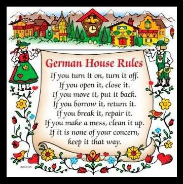 House Rules Deutschland