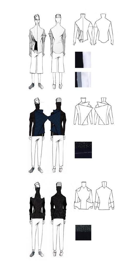 Fashion Portfolio - fashion drawings, fashion design illustrations // Luke Astro