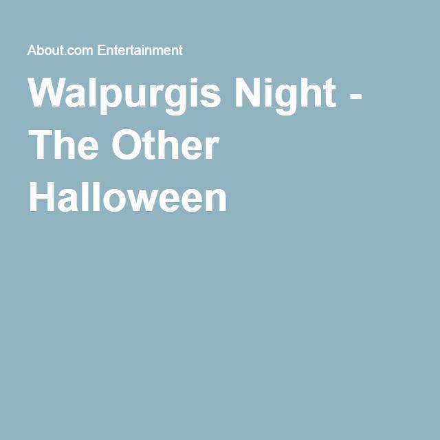 Walpurgis Night - The Other Halloween