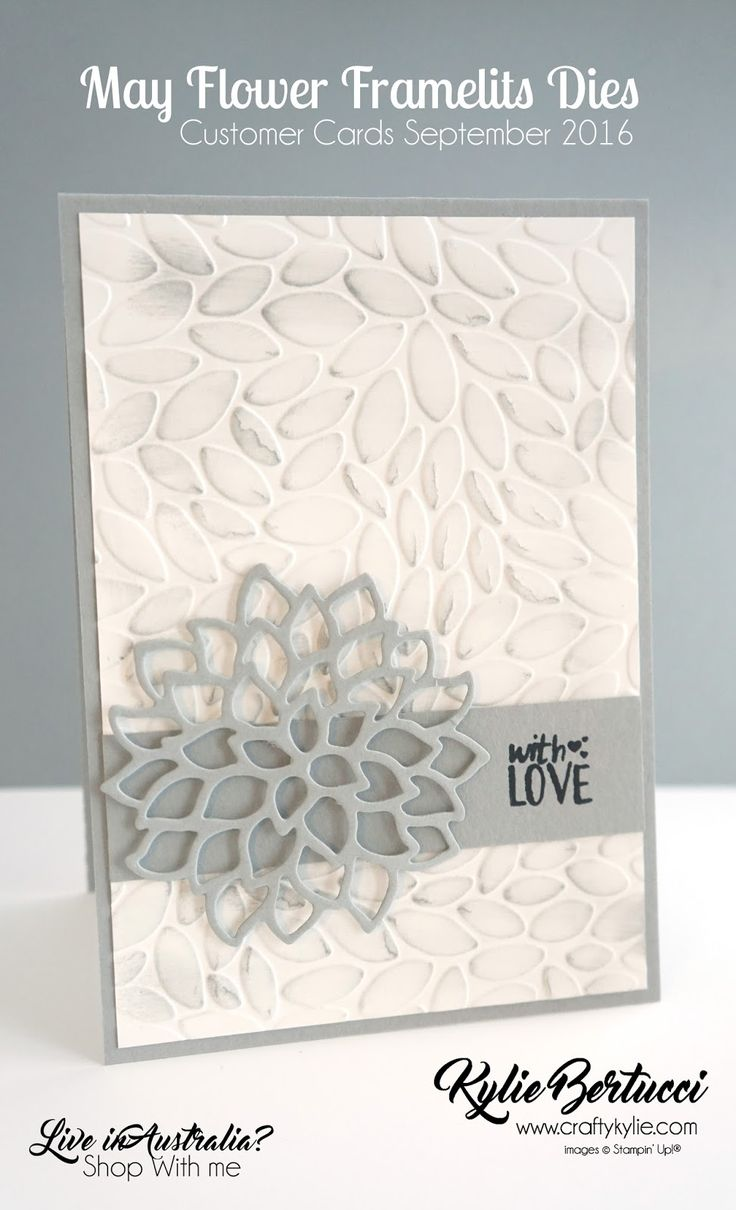 All cards on one card - Kylie Bertucci World Card Making Day Blog Hop Number One Click On The Link
