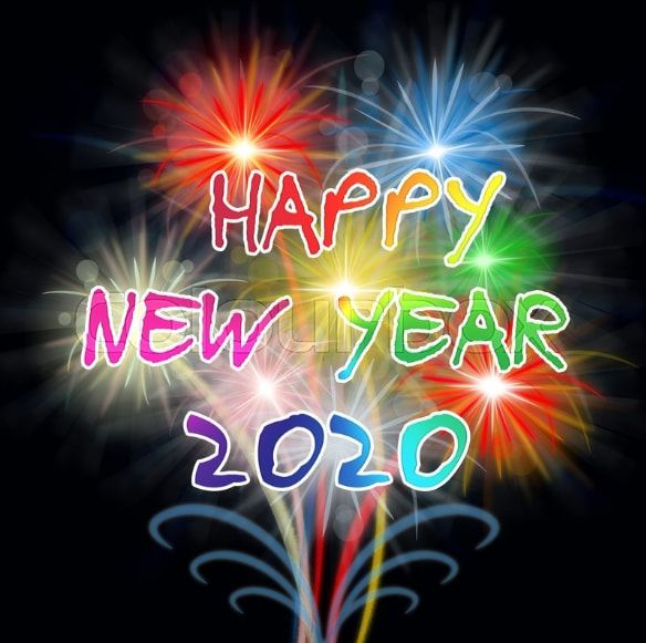 Happy New Year 2020 Photo Happy New Year 2020 Hd Photo Happy New Year Message Happy New Year Images Happy New Year Wallpaper