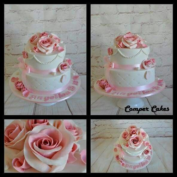 Birthday cake by #compercakes