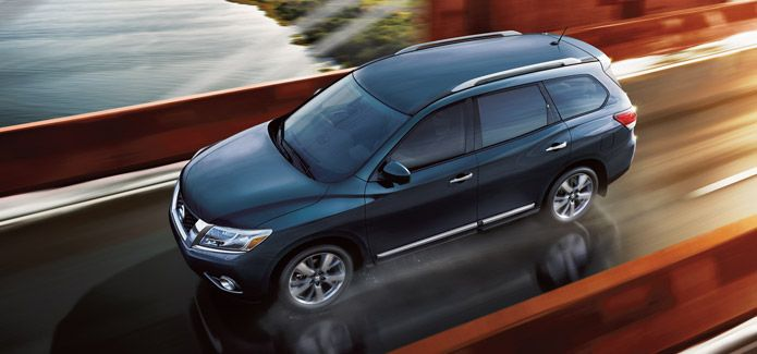 2014 Nissan Pathfinder Platinum Premium... Momma likes. =)