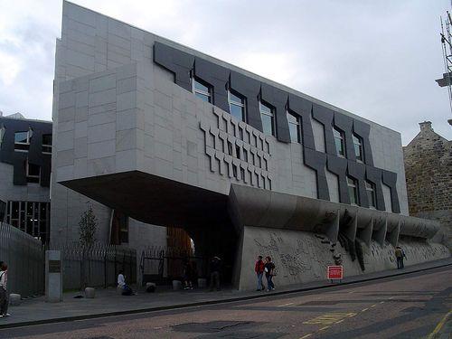 Scottish Parliament Building, Edinburgh,