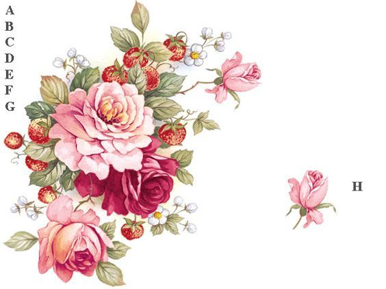 67 best floral images on pinterest decoupage paper embroidery and photo mightylinksfo