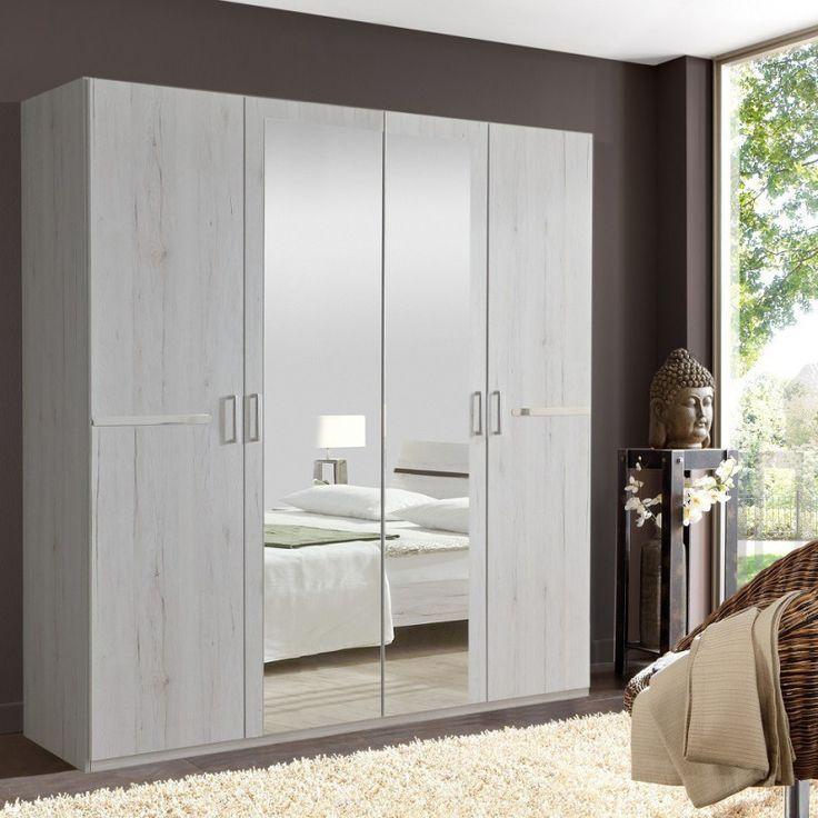 Chambre A Coucher Avec Armoire A Miroir In 2020 Wardrobe Design