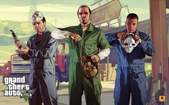 Mikey, tonton Trevor et Franky