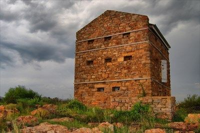 The Witkop Blockhouse was declared a national monument in 1948 and is one of the last fifty left in our country Witkop Blockhouse - can be found along the railway line from Vereeniging to Elandsfontein (Germiston) Boer WarsMemorials and Monuments on Waymarking.com