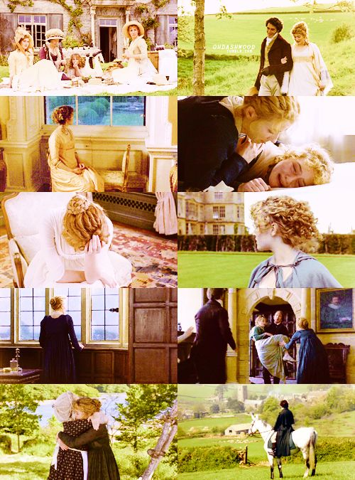 Sense & Sensibility (1995) - starring Emma Thompson as Elinor Dashwood, Kate Winslet as Marianne Dashwood, Gemma Jones as Mrs. Dashwood & Emilie Francois as Margaret Dashwood