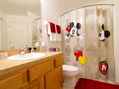Mickey Mouse Bathroom Ideas Magnificent Best 25 Mickey Mouse Bathroom Ideas On Pinterest  Mickey Mouse Inspiration
