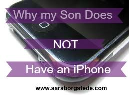 Tips for managing kids and phones. Includes a copy of our family technology agreement.
