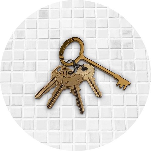 porte-clés Antique Key .:serendipity.fr:.