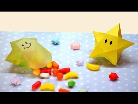 Brotes de Creatividad: Cajitas de dulces o regalo con forma de estrella