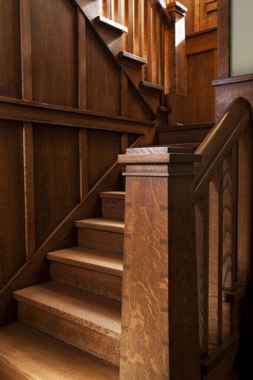 34 Best Arts Amp Crafts Staircases Images On Pinterest