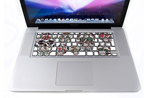 Clavier Sugar Skull AZERTY par i-Sticker: Stickers autocollant MacBook Pro Air décoration ordinateur portable Mac Apple - https://streel.be/clavier-sugar-skull-azerty-par-i-sticker-stickers-autocollant-macbook-pro-air-decoration-ordinateur-portable-mac-apple/