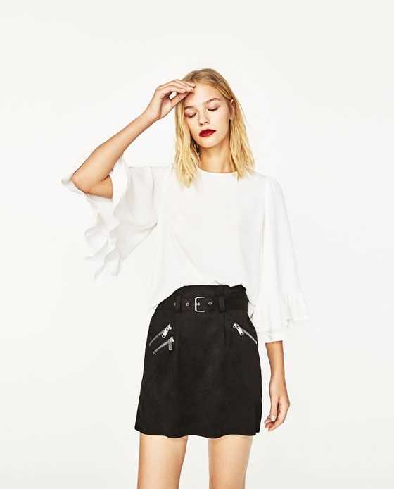 1000 id es propos de chemise femme zara sur pinterest talons en cuir tenues de chemise de. Black Bedroom Furniture Sets. Home Design Ideas