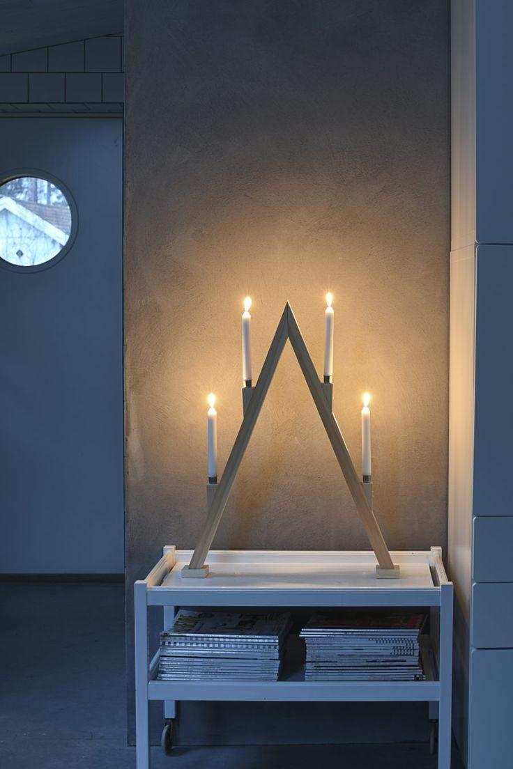 DIY: Gör en egen adventsljusstake i trä