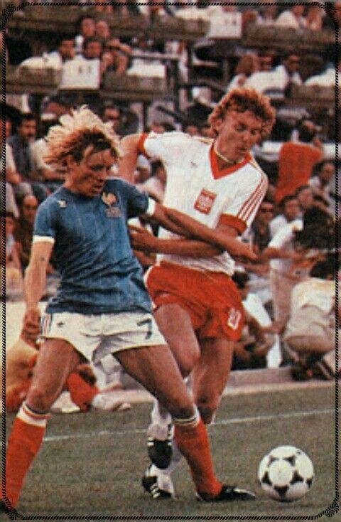 Zbigniew Boniek, Poland vs France 3 - 2, World Cup 1982.