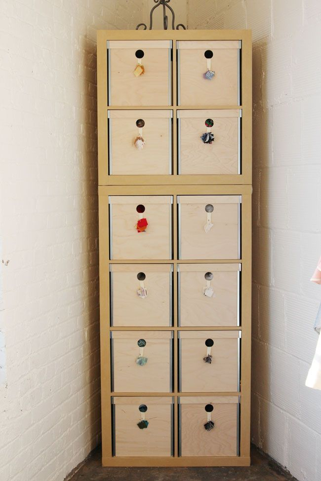 1000 images about furnishing my 2 bedroom w ikea on for Fabric drawers ikea expedit