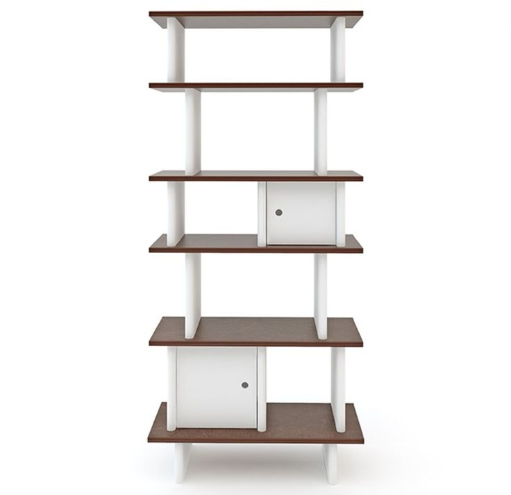 Oeuf Vertical Mini Library Bookshelf