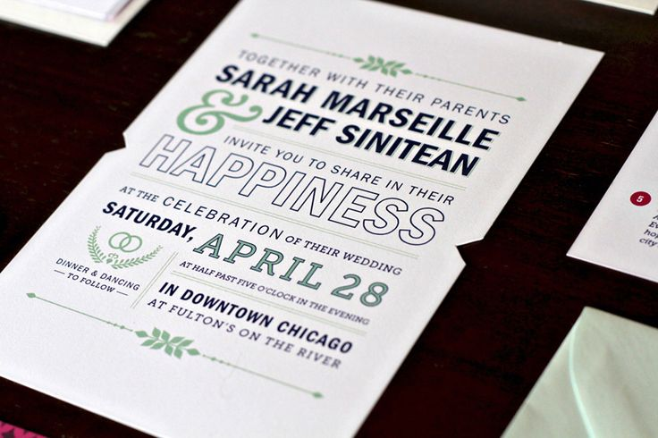 Unique Wedding Invitation Wording: 42 Best Images About Modern Wedding Invitations On