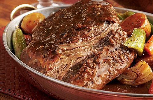 Best-Ever Bison Pot Roast. Get ready to fill your home with the aroma of pure comfort. Easy to assemble, this one-dish meal slowly simmers...