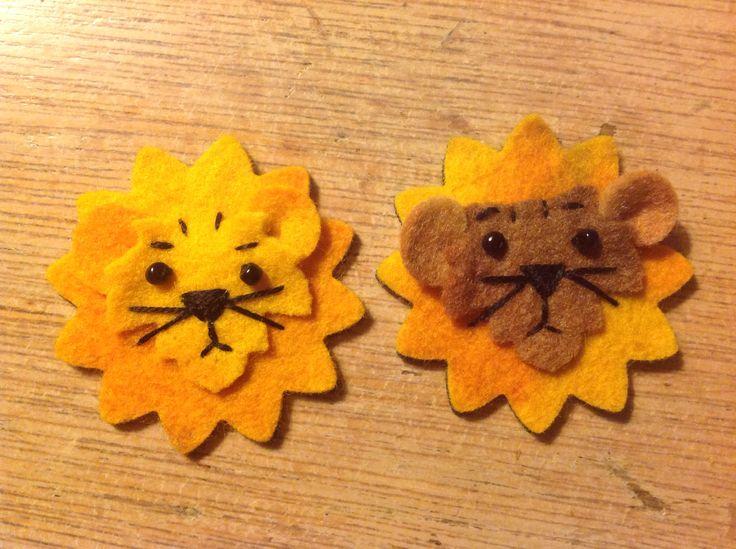 lion leeuw felt vilt ontwerp SpullieS