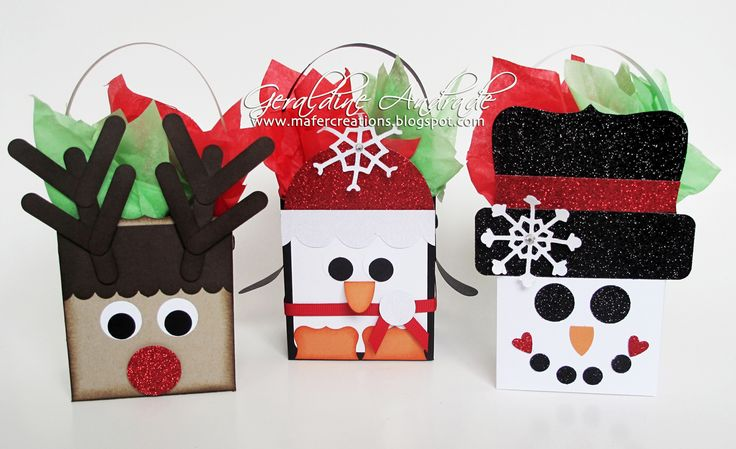 Mafer's Creations: BOXES DECORATED WITH CHRISTMAS CHARACTER - CHRISTMAS BOXES