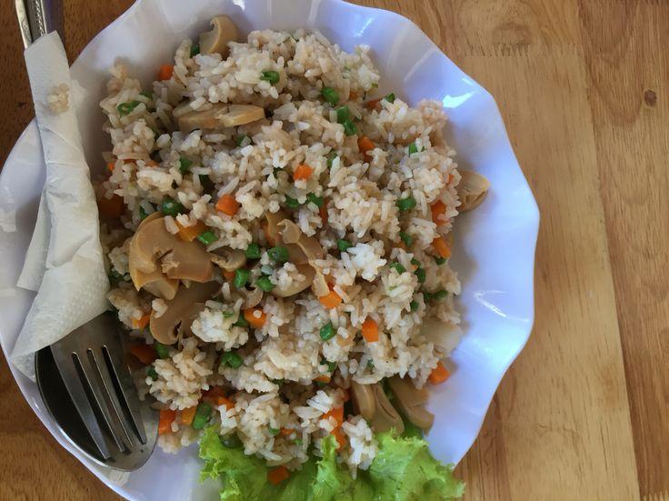 Riz sautes aux legumes, Cambodge