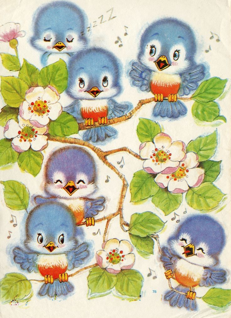 #papeldecarta #peachflowers #birds #music #singing