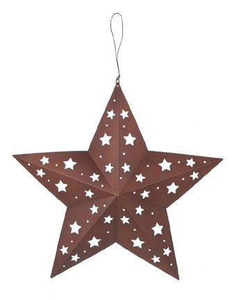 August Grove Clic Tin Star With Cutouts Wall Décor