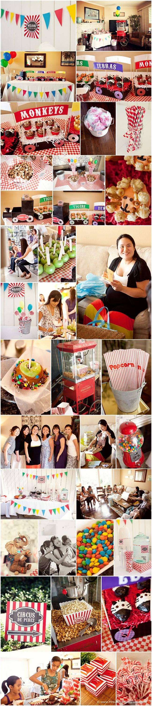 Circus Themed Baby Shower  www.PirouettePhotography.com  Pirouette Photography, a Teresa Y.F. Collection