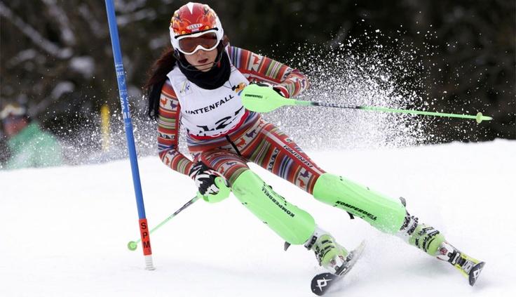 FOTOS: La peruana Ornella Oettl lució un traje con motivos andinos en el mundial de esquí