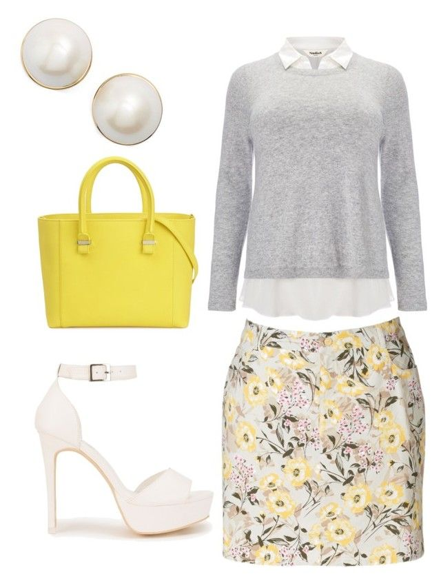 """Untitled #6"" by queenquanna1108 on Polyvore featuring Croft & Barrow, Studio 8, Victoria Beckham, Nly Shoes and Kate Spade"