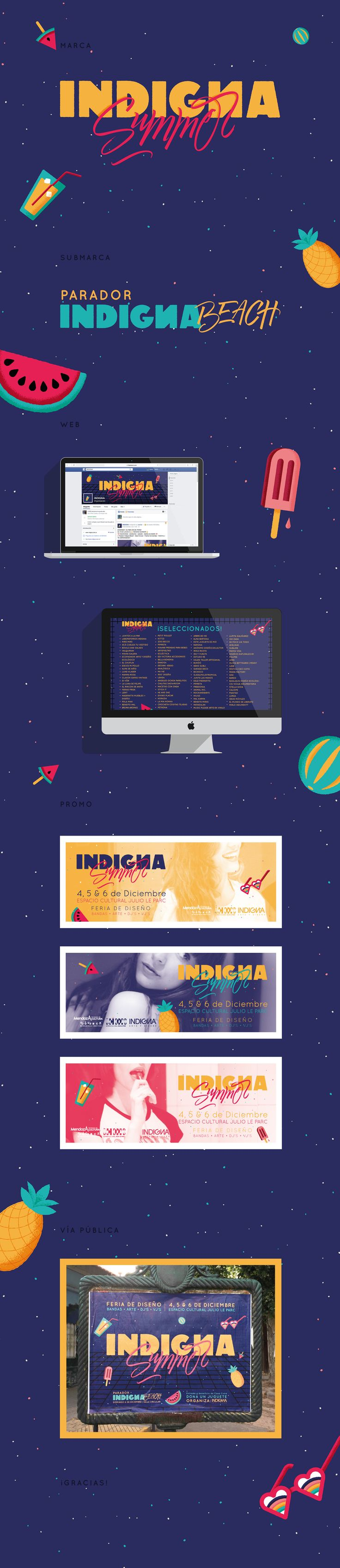 INDIGNA Summer on Behance