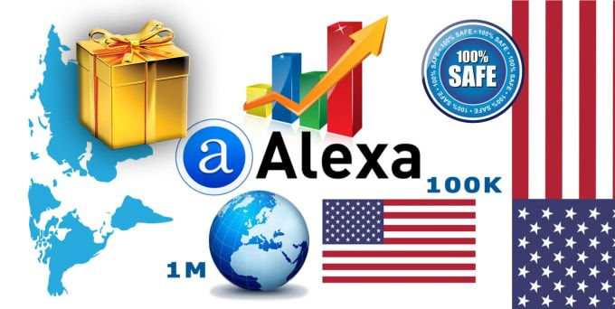 I Will Improve Global And Usa Alexa Rank With Traffic And Backlink In 2021 Alexa Website Web Traffic Website Traffic