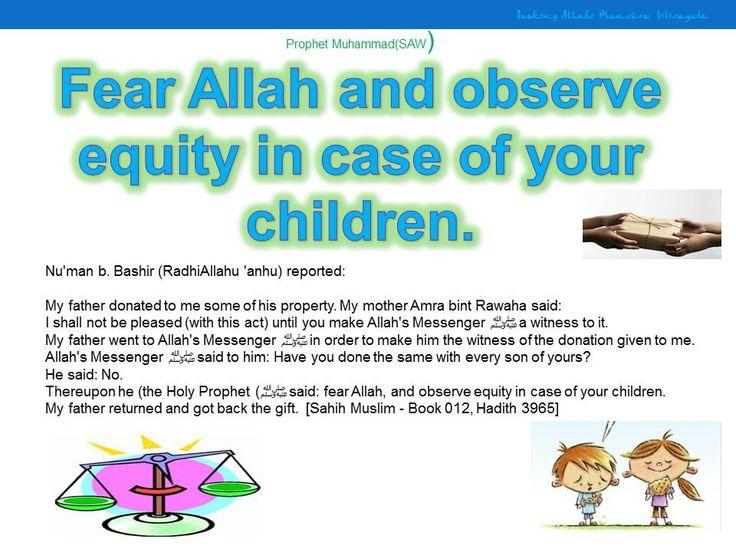 fairness in children