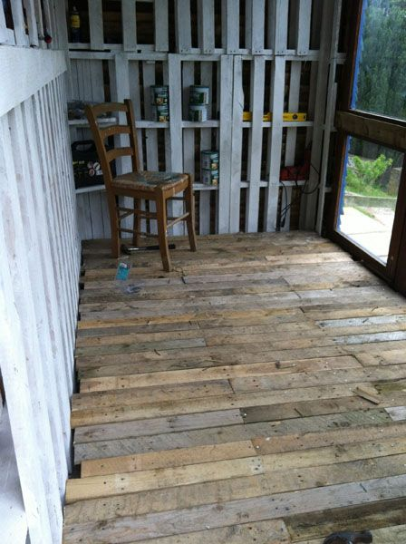 56 best build out images on pinterest architecture for the home pallet floor wood pallet flooringwood floorflooring ideaspallet solutioingenieria Image collections