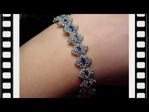 Zigzag Beaded Bracelet, Anklet and Ring Tutorial - YouTube