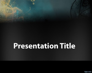 Mystery PowerPoint template is a free mystery background that you can use in PowerPoint presentations