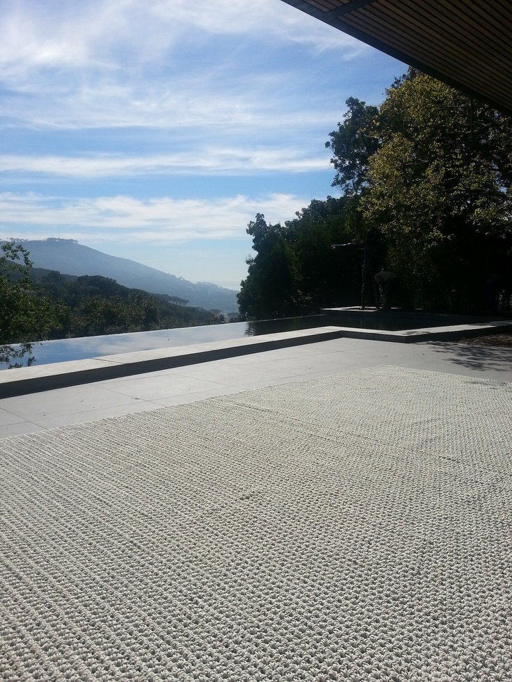 Our Verandah Collection Rug in Bone - beauty of a house in Vredehoek, Cape Twon