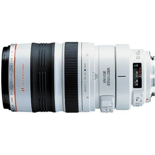Canon EF 100-400mm f/4.5-5.6L IS USM Telephoto Zoom Lens for Canon SLR Cameras * You can find more details by visiting the image link.