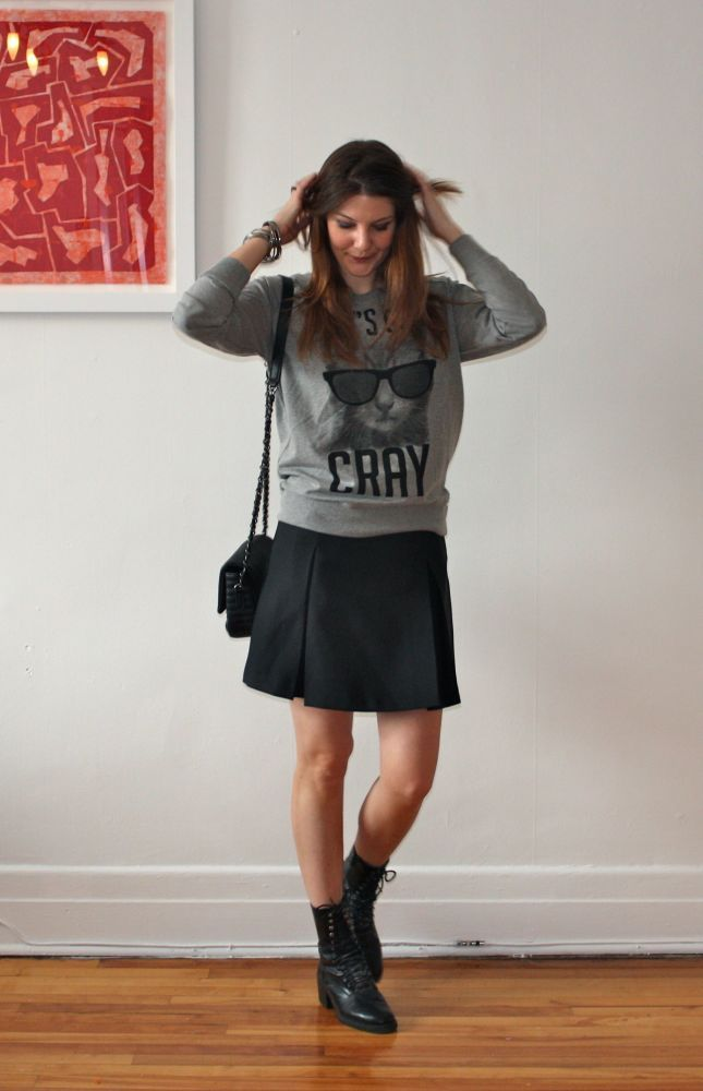 Piacente schoolgirl skirt | Mlle Frivole